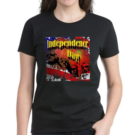 Independence Day Women's Dark T-Shirt