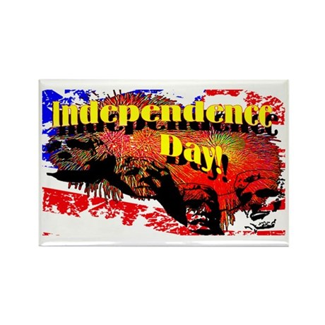 Independence Day Rectangle Magnet (100 pack)