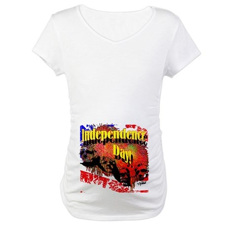 Independence Day Maternity T-Shirt