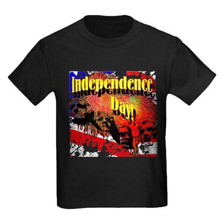 Independence Day Kids Dark T-Shirt
