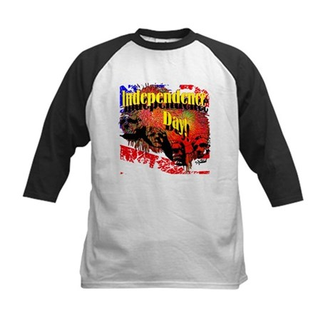 Independence Day Kids Baseball Jersey