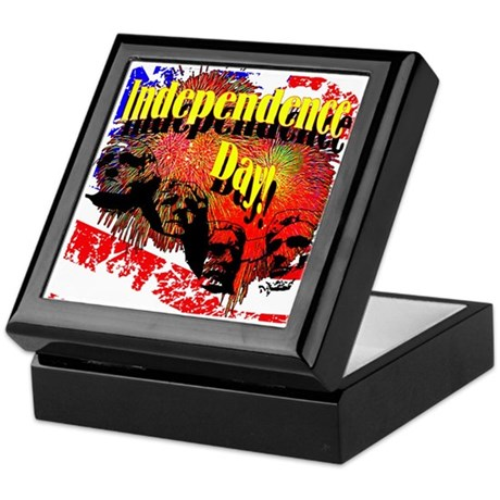 Independence Day Keepsake Box