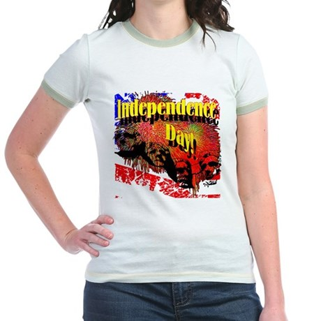 Independence Day Jr. Ringer T-Shirt