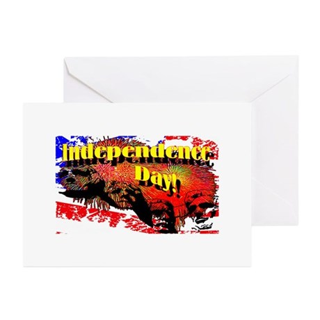 Independence Day Greeting Cards (Pk of 20)