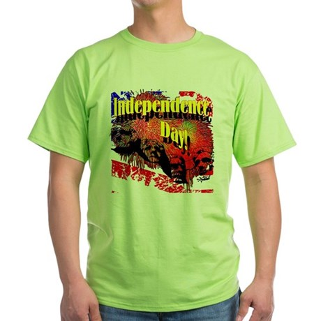 Independence Day Green T-Shirt