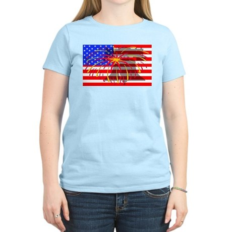4th of July Independence Women's Light T-Shirt