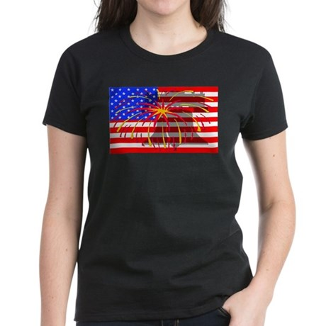 4th of July Independence Women's Dark T-Shirt