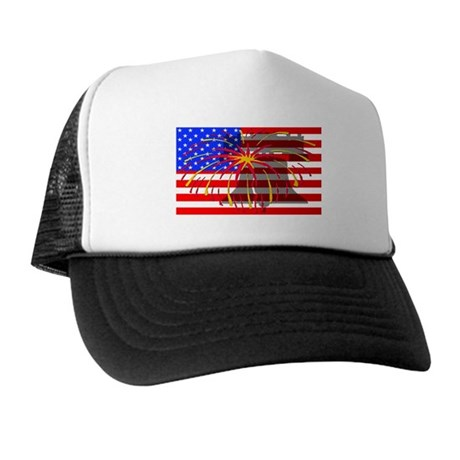 4th of July Independence Trucker Hat