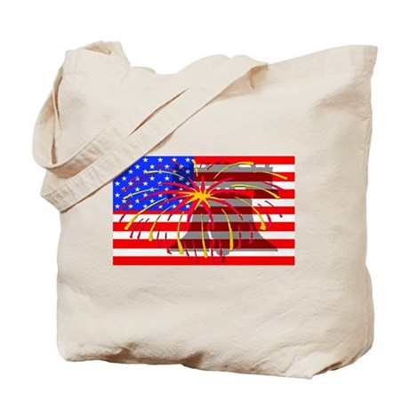 4th of July Independence Tote Bag
