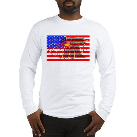 4th of July Independence Long Sleeve T-Shirt