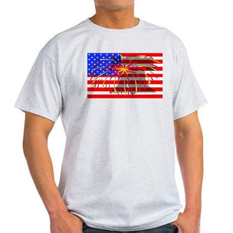 4th of July Independence Light T-Shirt