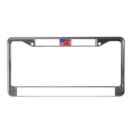 4th of July Independence License Plate Frame
