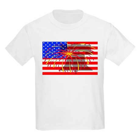 4th of July Independence Kids Light T-Shirt