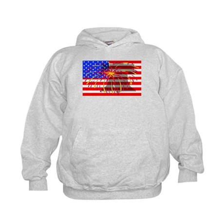 4th of July Independence Kids Hoodie
