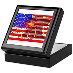 4th of July Independence Keepsake Box
