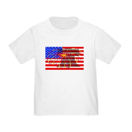 4th of July Independence Toddler T-Shirt