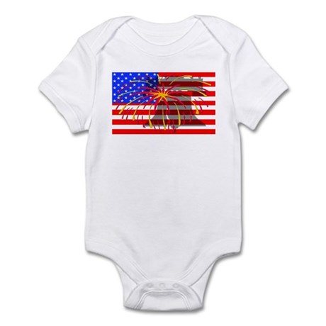4th of July Independence Infant Bodysuit