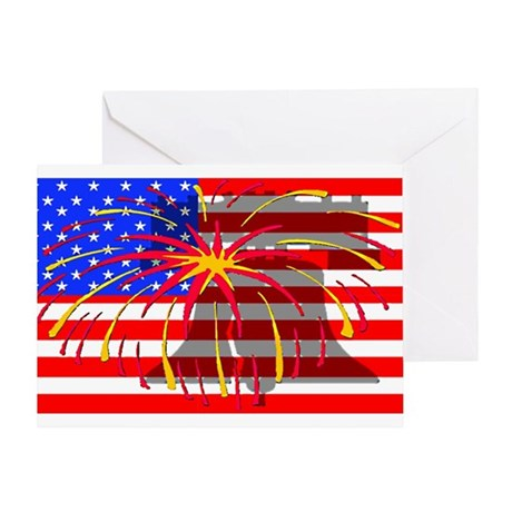 4th of July Independence Greeting Card