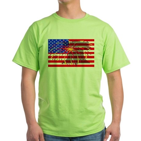 4th of July Independence Green T-Shirt