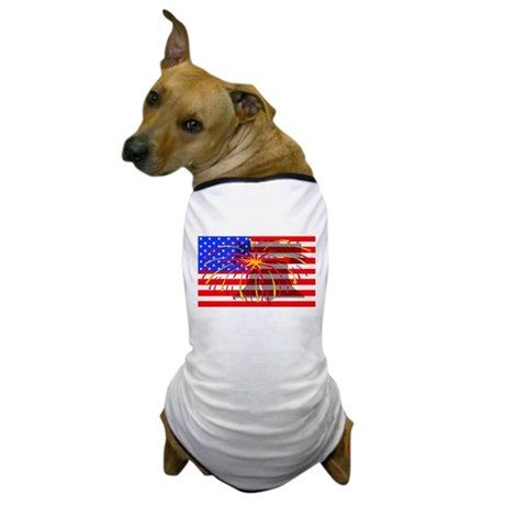 4th of July Independence Dog T-Shirt