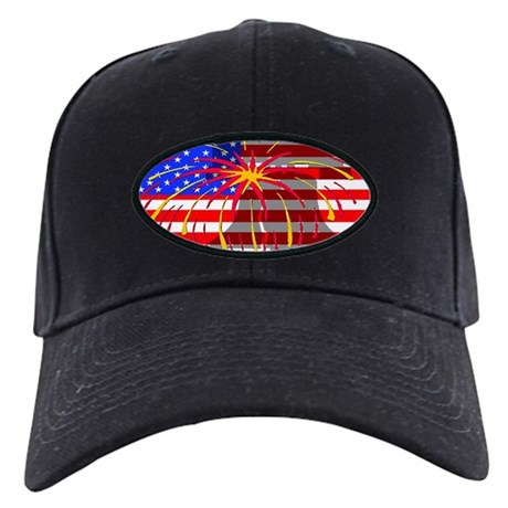 4th of July Independence Black Cap