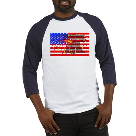 4th of July Independence Baseball Jersey