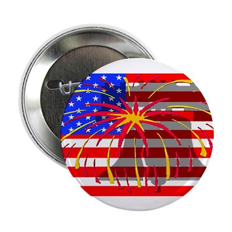 "4th of July Independence 2.25"" Button (100 pack)"