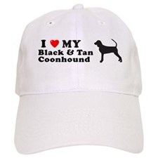 BLACK TAN COONHOUND Baseball Cap