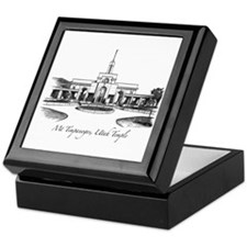 Mt Timpanogos Temple Keepsake Box