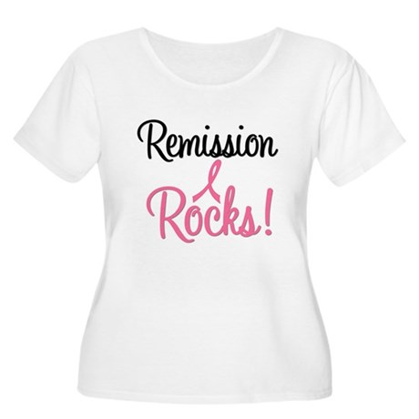 Remission Rocks Breast Cancer Women's Plus Size Sc