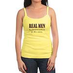 Real Men Buy Feminine Products Jr. Spaghetti Tank