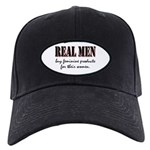 Real Men Buy Feminine Products Black Cap