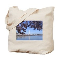Cute Washington dc cherry blossom Tote Bag