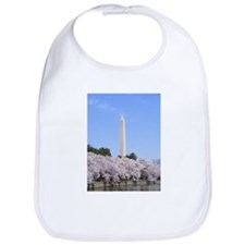 Cool Washington dc cherry blossom Bib