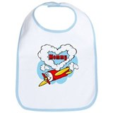 Love Mommy Airplane Bib