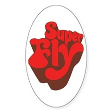 Superfly Oval Decal