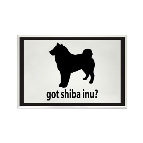 Got Shiba Inu? Rectangle Magnet