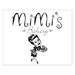 Mimi's Bakery Small Poster