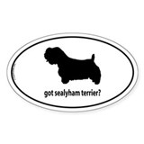 Got Sealyham Terrier? Oval Decal