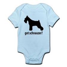 Got Schnauzer? Infant Bodysuit