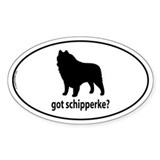 Got Schipperke? Oval Decal