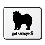 Got Samoyed? Mousepad