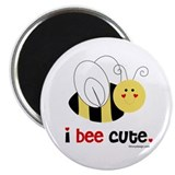 "I Bee Cute 2.25"" Magnet (10 pack)"