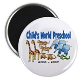 "CHILDS WORLD PRESCHOOL 2.25"" Magnet (10 pack)"