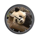 Giant Panda Bear Wall Clock