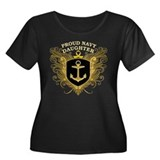 Proud Navy Daughter Women's Plus Size Scoop Neck D