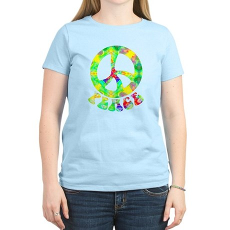 Flower Child Peace Women's Light T-Shirt