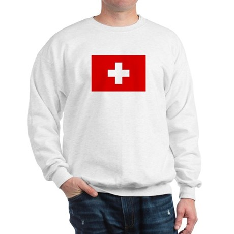 SWISS CROSS FLAG Sweatshirt