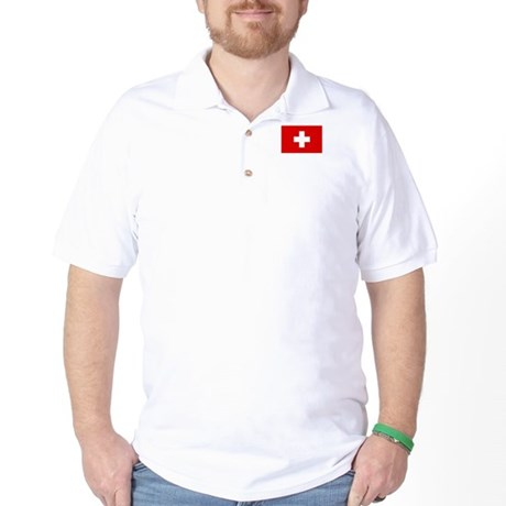 SWISS CROSS FLAG Golf Shirt