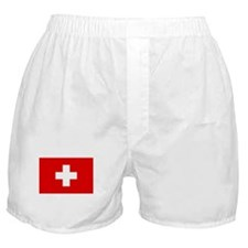 SWISS CROSS FLAG Boxer Shorts